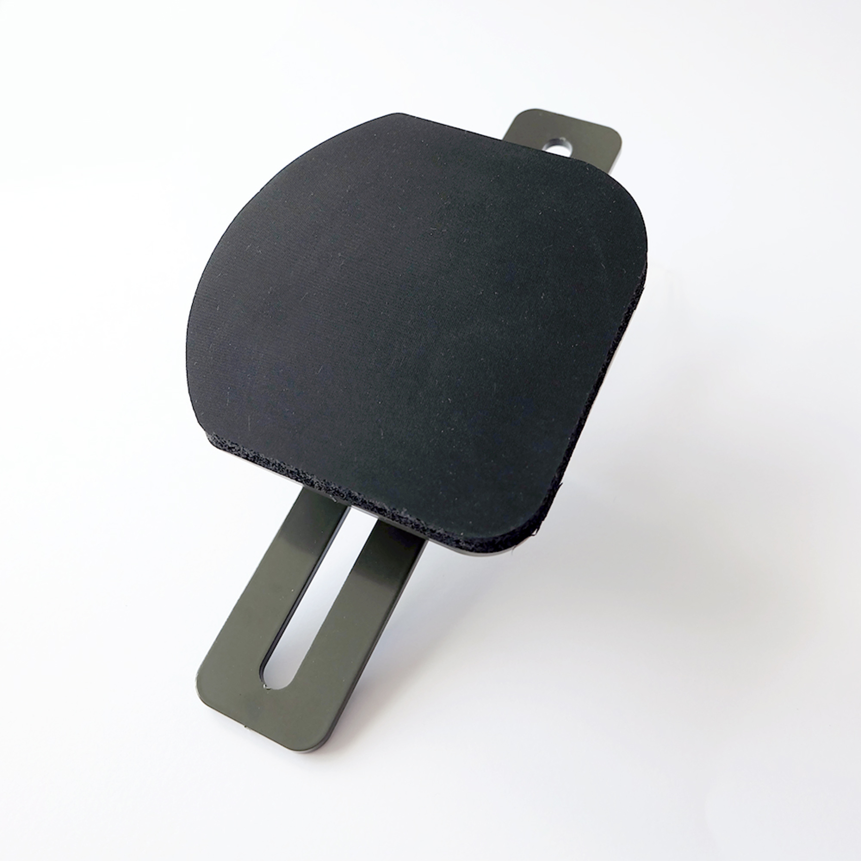 Rounded removable plate 14cm x 14cm suitable for face masks for Secabo heat presses