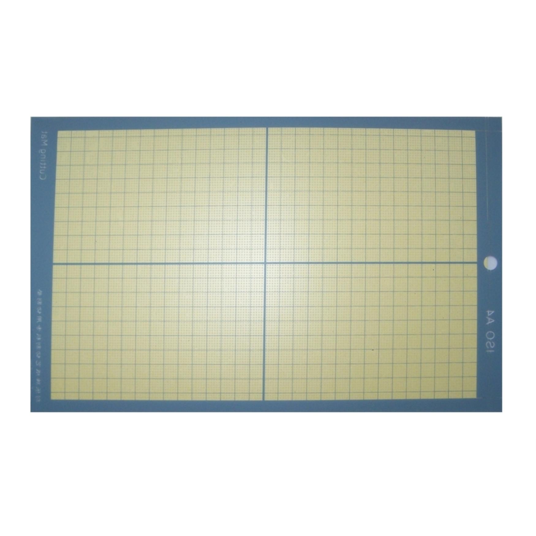 sticky plotting sheet A4
