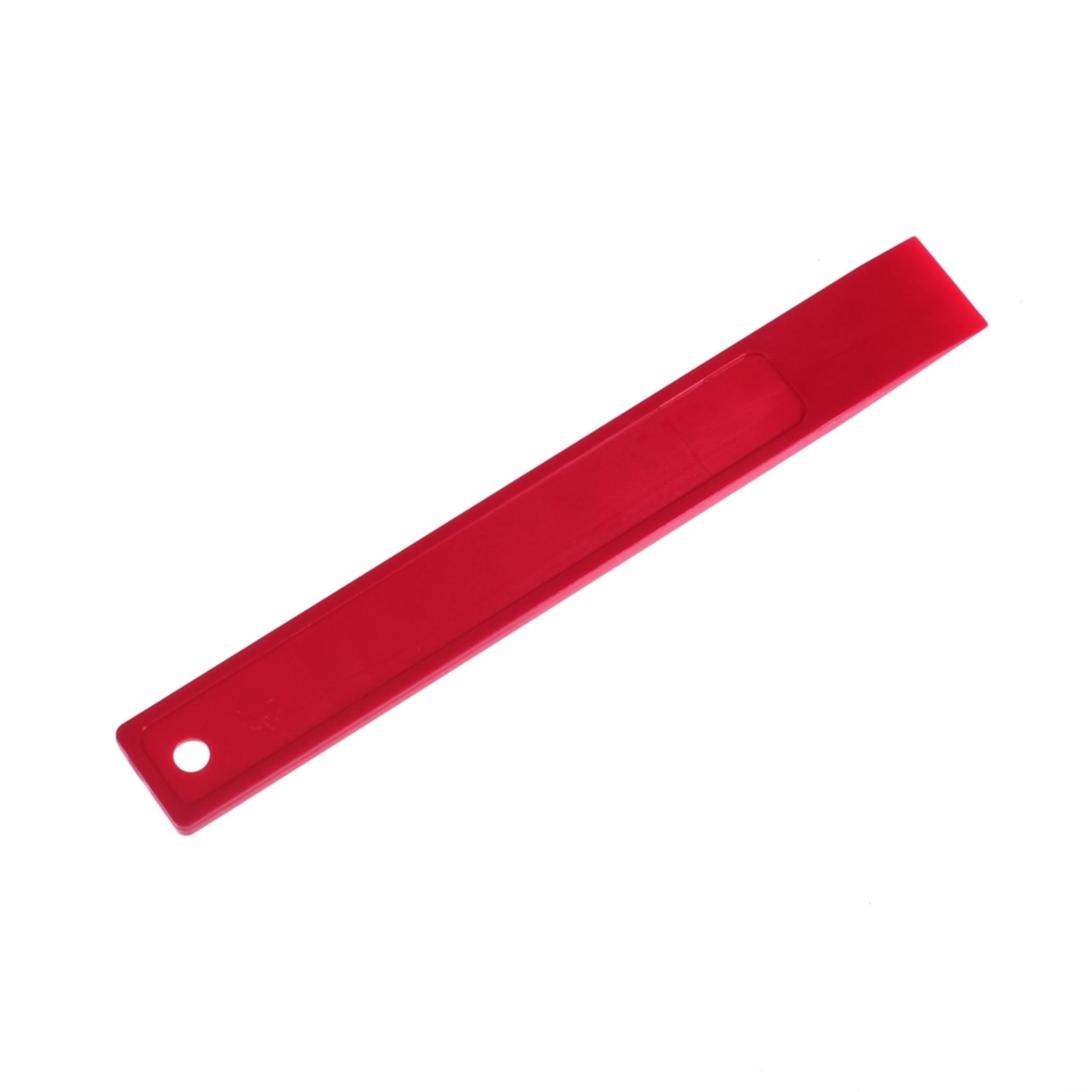 Espátula de plástico para retirar vinilos