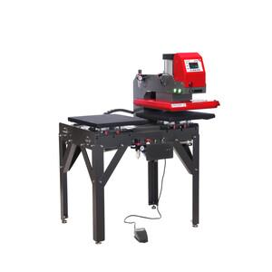 Presse à chaud automatique double plateau Secabo TPD7 PREMIUM