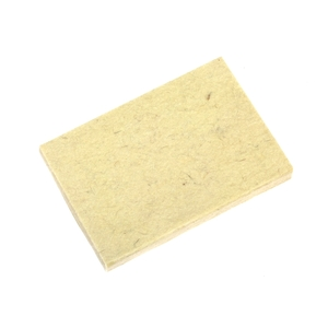 felt squeegee for dry applications