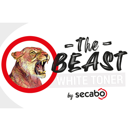 Secabo THE BEAST tóner blanco