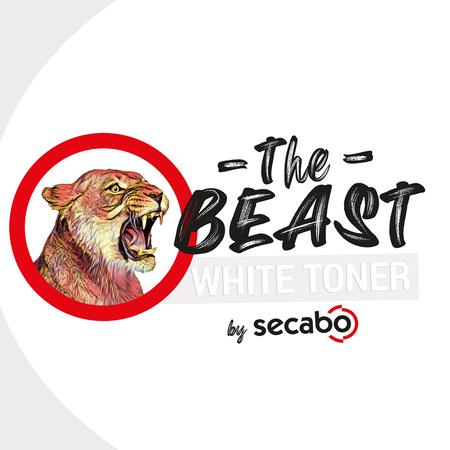 Secabo THE BEAST toner blanc
