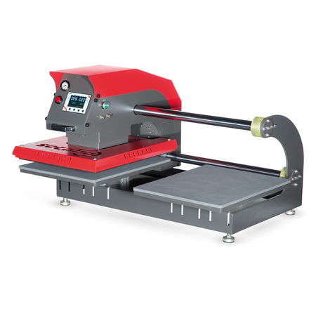 Secabo TPD7 pneumatic double-plate heat press