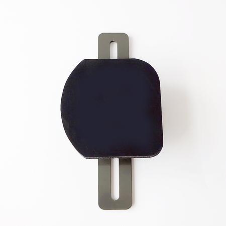 Piastra smontabile arrotondata 14cm x 14cm adatta per maschere facciali per termopresse Secabo