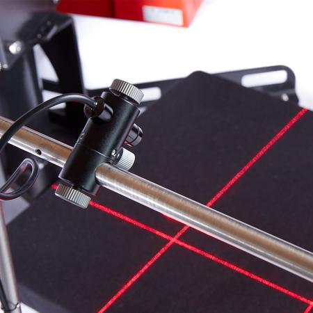 Versión de mesa de láser cruzado simple