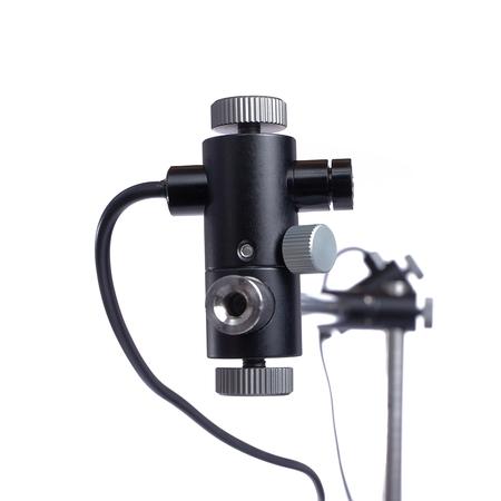 Einzel-Kreuzlaser mit Zubehörhalter für Schnellwechsler