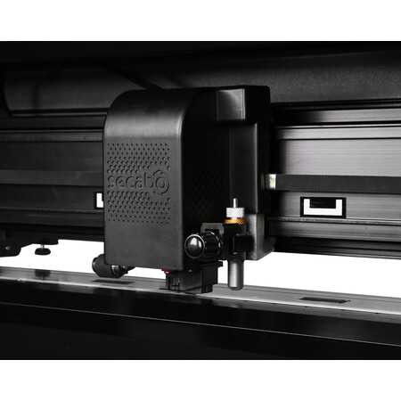Secabo T120 II vinyl cutter with LAPOS Q