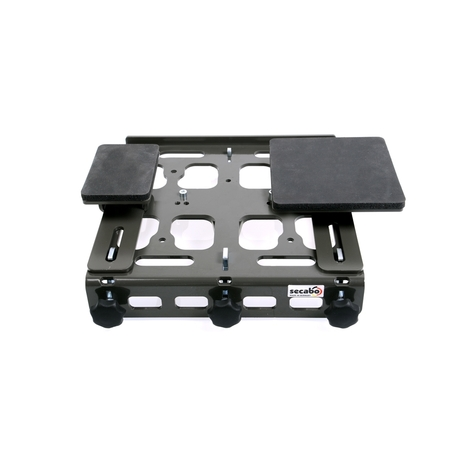 Secabo quick-change system for exchangeable base plates for TC 7