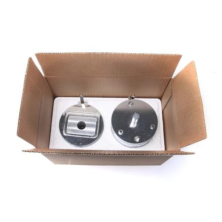 Buttonwerkzeug-Set rechteckig