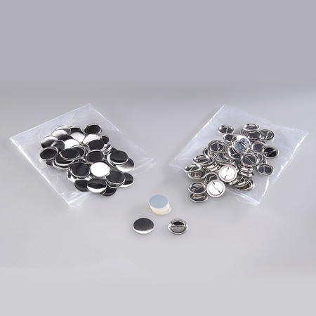 500 buttons with pin