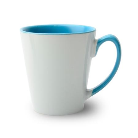 36er Karton Tasse konisch innen Griff hellblau, A